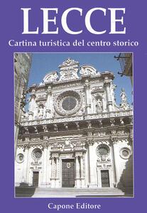 Lecce. Cartina turistica del centro storico