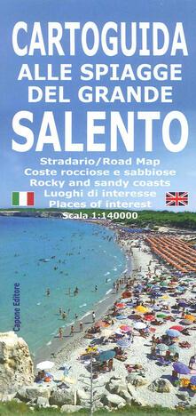 Voluntariadobaleares2014.es Cartoguida alle spiagge del grande Salento Image