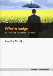 Librisulladiversita.it Effetto nudge. La politica del paternalismo libertario Image