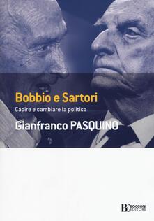 Voluntariadobaleares2014.es Bobbio e Sartori. Capire e cambiare la politica Image