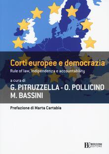 Voluntariadobaleares2014.es Corti europee e democrazia. Rule of law, indipendenza e accountability Image