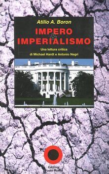 Listadelpopolo.it Impero e imperialismo. Una lettura critica di Michael Hardt e Antonio Negri Image