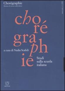 Aboutschuster.de Chorégraphie. Rivista di ricerca sulla danza. Nuova serie (2002). Vol. 2: Studi sulla scuola italiana. Image