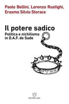 Ipabsantonioabatetrino.it Il potere sadico. Politica e nichilismo in D.A.F. de Sade Image