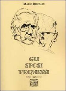 Gli sposi promessi - Mario Biscaldi - copertina