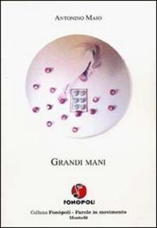 Grandi mani - Antonino Maio - copertina