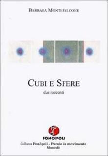 Cubi e sfere - Barbara Montefalcone - copertina