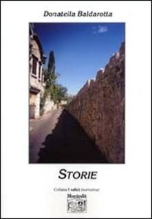 Storie - Donatella Baldarotta - copertina