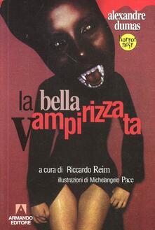 La bella vampirizzata - Alexandre Dumas - copertina