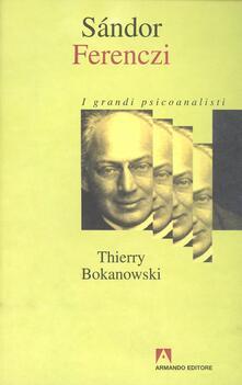 Sándor Ferenczi - Thierry Bokanowski - copertina
