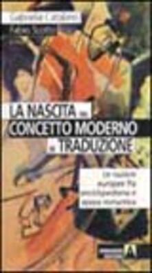 Antondemarirreguera.es La nascita del concetto moderno di traduzione. Le nazioni europee fra enciclopedismo e epoca romantica Image