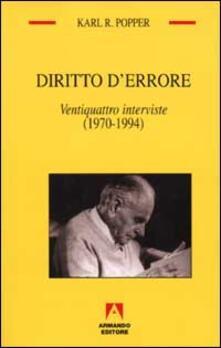 Steamcon.it Diritto d'errore. Ventiquattro interviste (1970-1994) Image