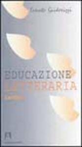 Educazione letteraria. Lezioni