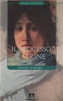 Il processo di Frine - Edoardo Scarfoglio - copertina