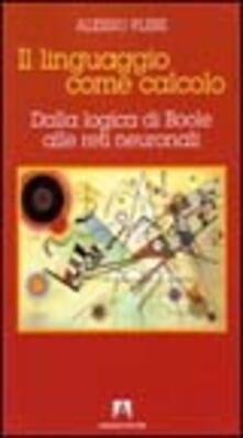 Il linguaggio come calcolo - Alessio Plebe - copertina