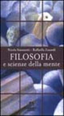 Filosofia e scienze della mente - Nicola Simonetti,Raffaella Zanardi - copertina