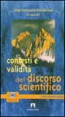 Contesti e validità del discorso scientifico - Luigi Cuccurullo,Ezio Mariani - copertina