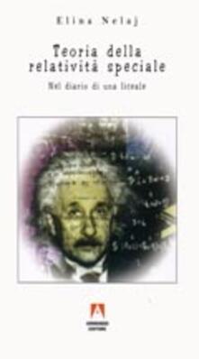 Teoria della relatività speciale - Elina Nelaj - copertina