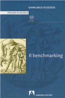 Il benchmarking - Giancarlo Scozzese - copertina