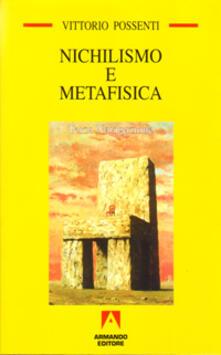 Nichilismo e metafisica - Vittorio Possenti - copertina