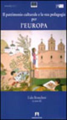 Il patrimonio culturale e la sua pedagogia per l'Europa - copertina