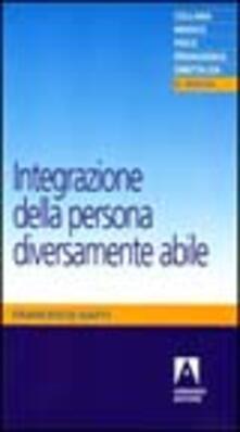Integrazione della persona diversamente abile - Francesco Gatti - copertina