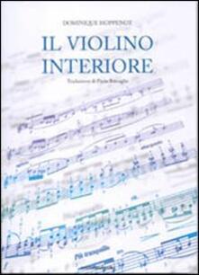 Il violino interiore - Dominique Hoppenot - copertina