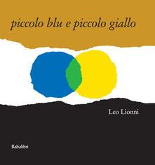 Piccolo blu e piccolo giallo - Leo Lionni - copertina