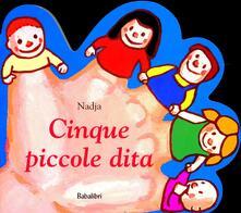 Cinque piccole dita - Nadja - copertina