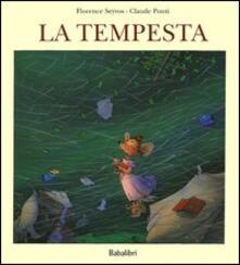 La tempesta - Claude Ponti,Florence Seyvos - copertina