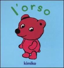 L' orso - Kimiko - copertina