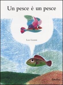 Un pesce è un pesce - Leo Lionni - copertina