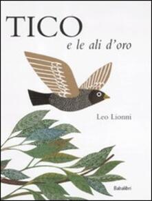 Tico e le ali d'oro - Leo Lionni - copertina