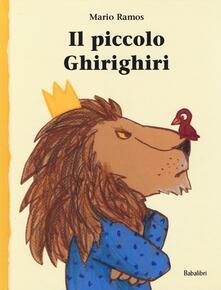 Il piccolo Ghirighiri - Mario Ramos - copertina