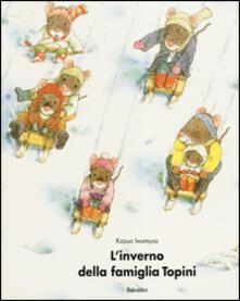 L' inverno della famiglia Topini - Iwamura Kazuo - copertina