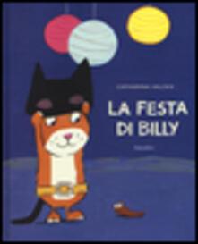 La festa di Billy - Catharina Valckx - copertina
