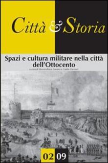 Spazi e cultura militare nella città dell'Ottocento - copertina
