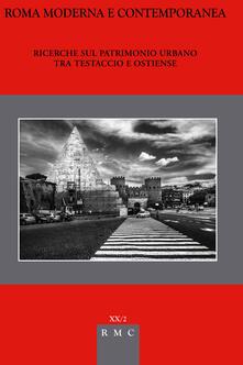 Ricerche sul patrimonio urbano tra Testaccio e Ostienze - copertina