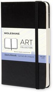 Moleskine Sketchbook. Nero