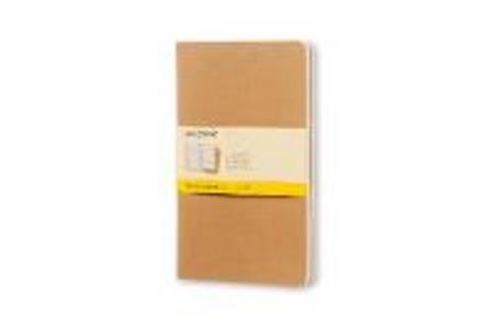 Cartoleria Quaderno Cahier Moleskine large a quadretti . Set da 3 Moleskine 0