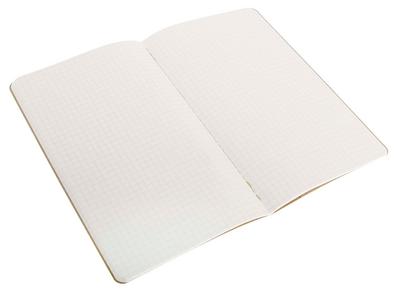 Cartoleria Quaderno Cahier Moleskine large a quadretti . Set da 3 Moleskine 3
