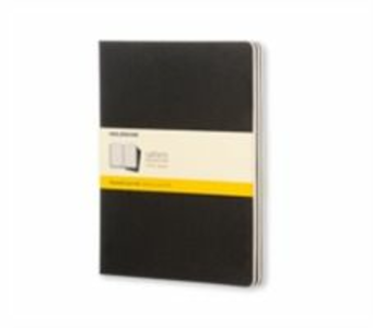 Cartoleria Quaderno Cahier Moleskine extra large a quadretti. Set da 3 Moleskine 0