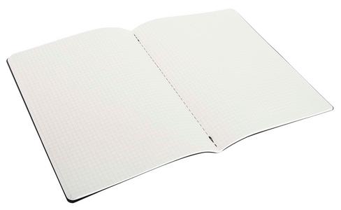 Cartoleria Quaderno Cahier Moleskine extra large a quadretti. Set da 3 Moleskine 3