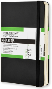 Cartoleria Taccuino City Notebook Moleskine Paris Moleskine 0