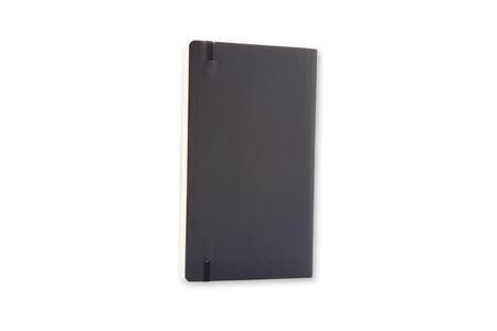 Taccuino Moleskine large a quadretti copertina morbida nero. Black - 7