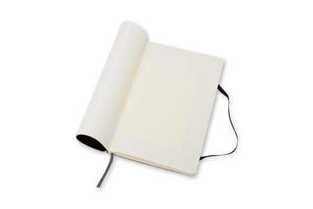 Cartoleria Taccuino Moleskine large a pagine bianche copertina morbida Moleskine 4