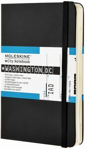 Cartoleria Taccuino Moleskine City Notebook Washington Moleskine 0