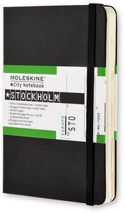 Cartoleria Taccuino Moleskine City Notebook Stockholm Moleskine 0
