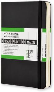Cartoleria Taccuino Moleskine City Notebook Frankfurt Am Main Moleskine 0