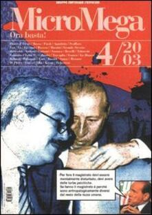 Fondazionesergioperlamusica.it Micromega. Vol. 4 Image